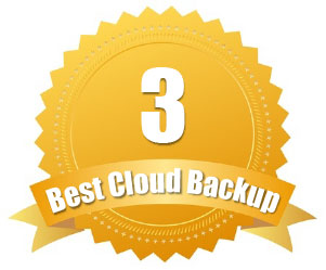 Rated #3 Best Cloud Backup
