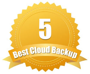 Rated #5 Best Cloud Backup