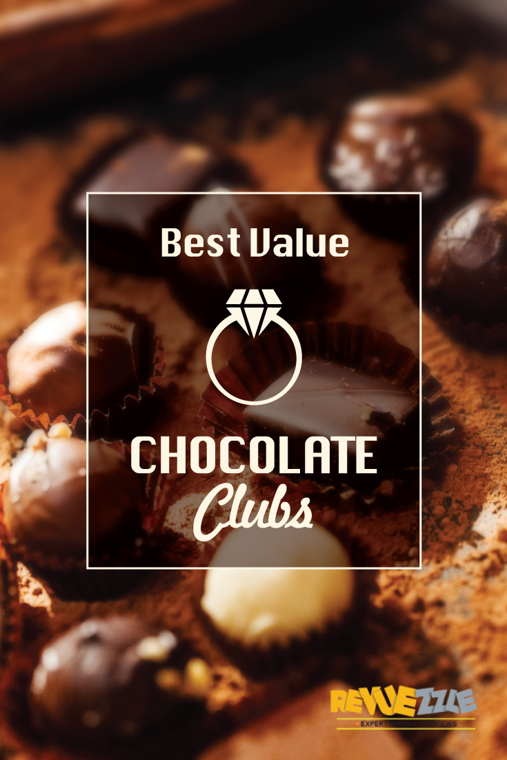 Our list of the Best Value Chocolate Clubs ensures per pound, you get the most chocolate, best quality and maximum reliability – and of course, delightful chocolates to enjoy month after month. #chocolate #value