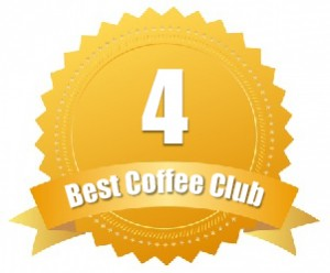 #4 Rated Best Coffee Club for Connoisseurs
