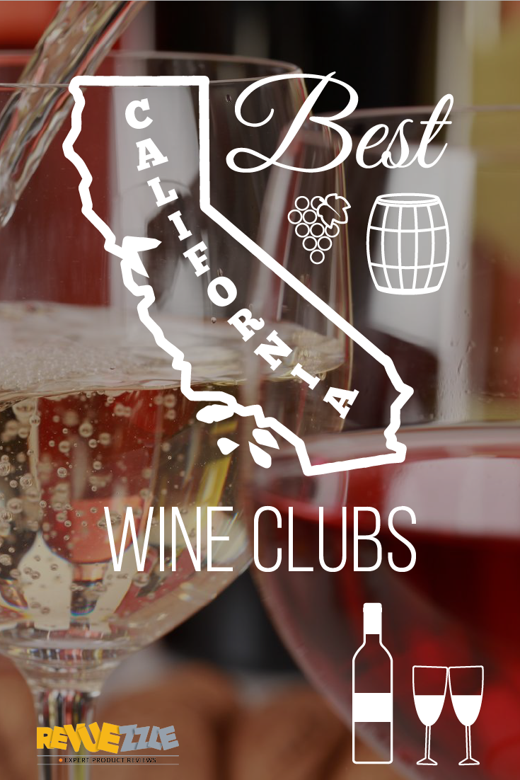 The best California wines are available via great, affordable wine clubs! #wine #california