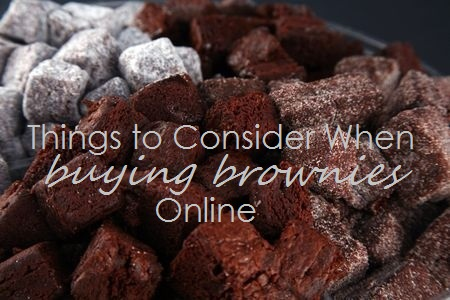 See what to look for when buying gourmet brownies online.