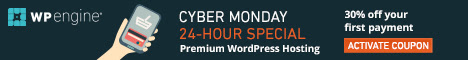 Save on your hosting with WP Engine cyber monday deals