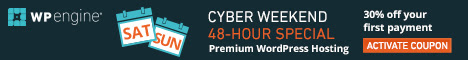 Save with cyber weekend deals from WP Engine