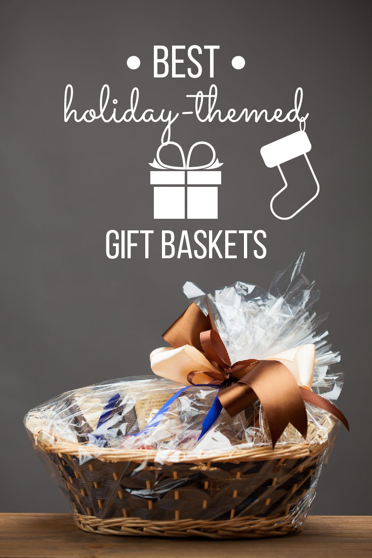 These top merchants offer the best selection of gift baskets specifically for your holiday, but they also add a layer of creativity so that it doesn't look like you just picked the garden-variety basket for your recipient. #gifts #giftbaskets #holidays #giftideas