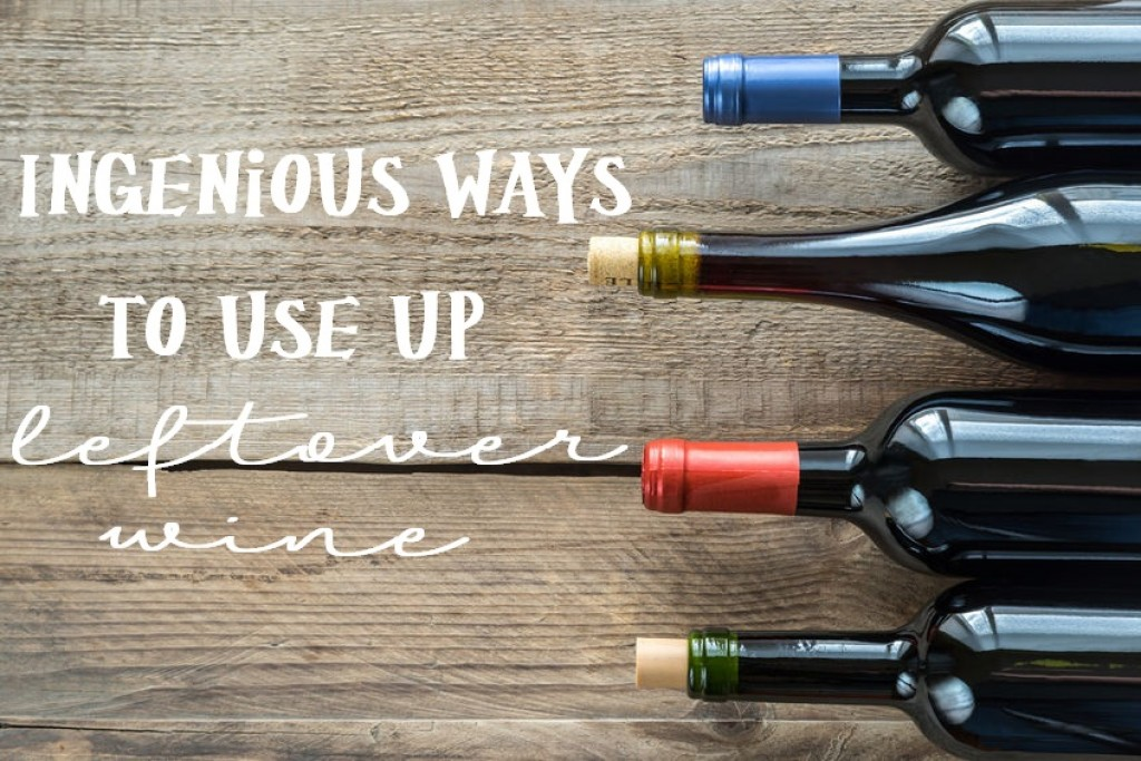 Use up leftover wine so nothing goes to waste!