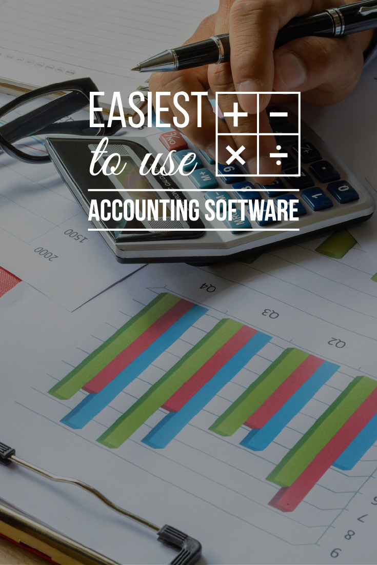 We have created a list of our top five Easiest Accounting Software to Use so that you can forgo the complex manuals and get your program up, running and tracking - all without taking away time from your business. #accounting #smallbusiness #easy #businessfinance