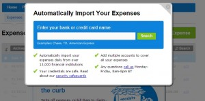 Import Transactions FreshBooks