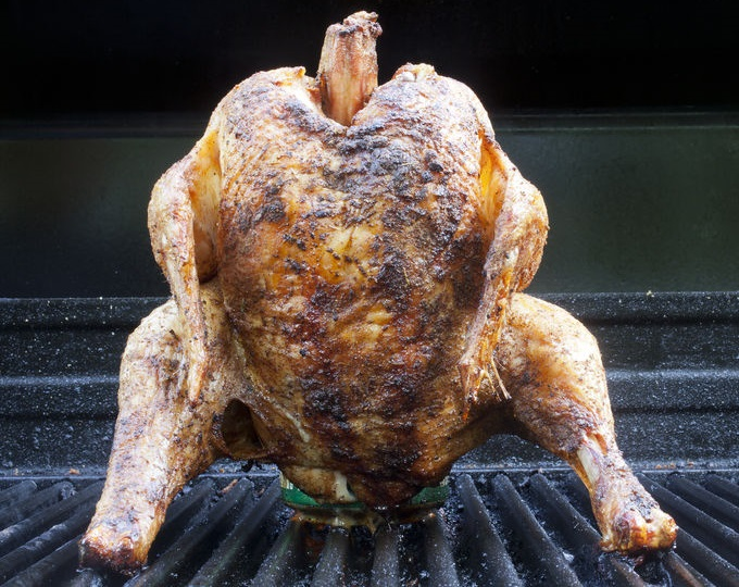 What is beer can chicken?