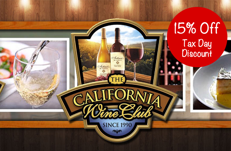 The California Wine Club 15% Off Every Purchase