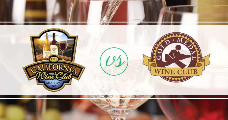 The California Wine Club vs. Gold Medal Wine Club