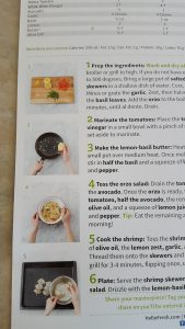 Step by Step Instructions from HelloFresh