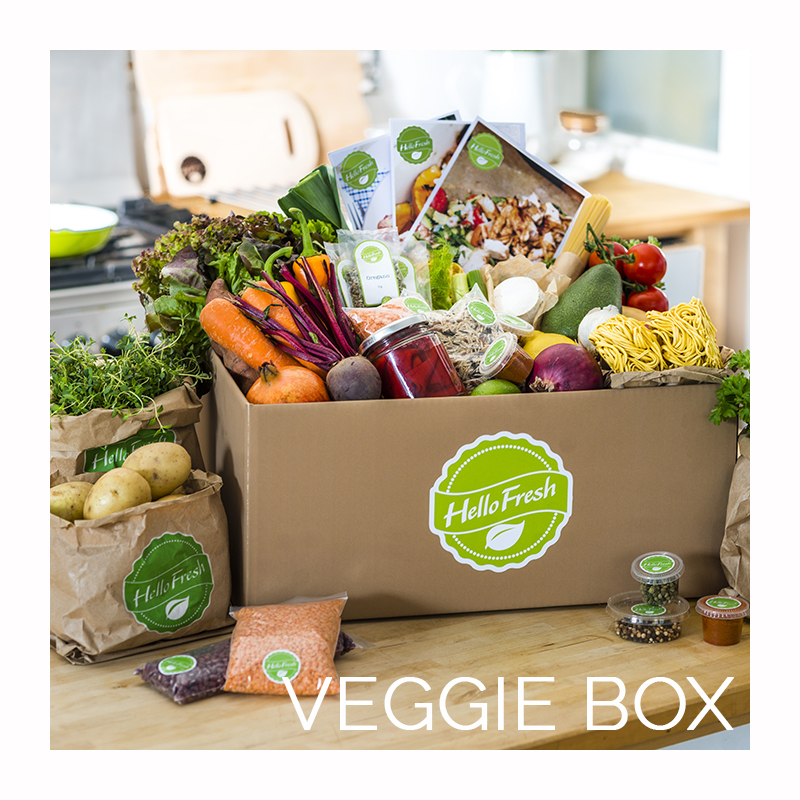 HelloFresh - Veggie Box • Revuezzle