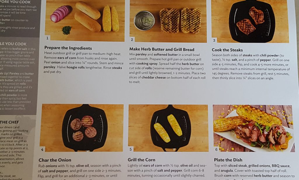 Home Chef Recipe Pictures