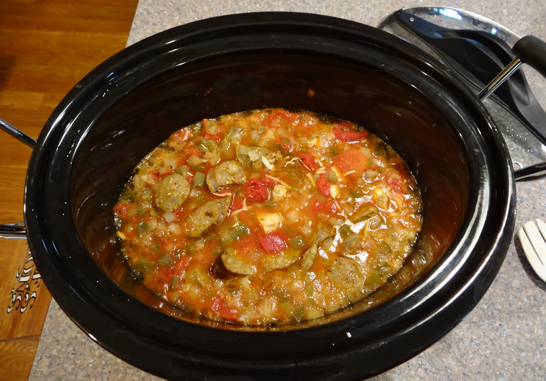 Crock-Pot Creole Meal