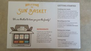Sun Basket Getting Started Guide