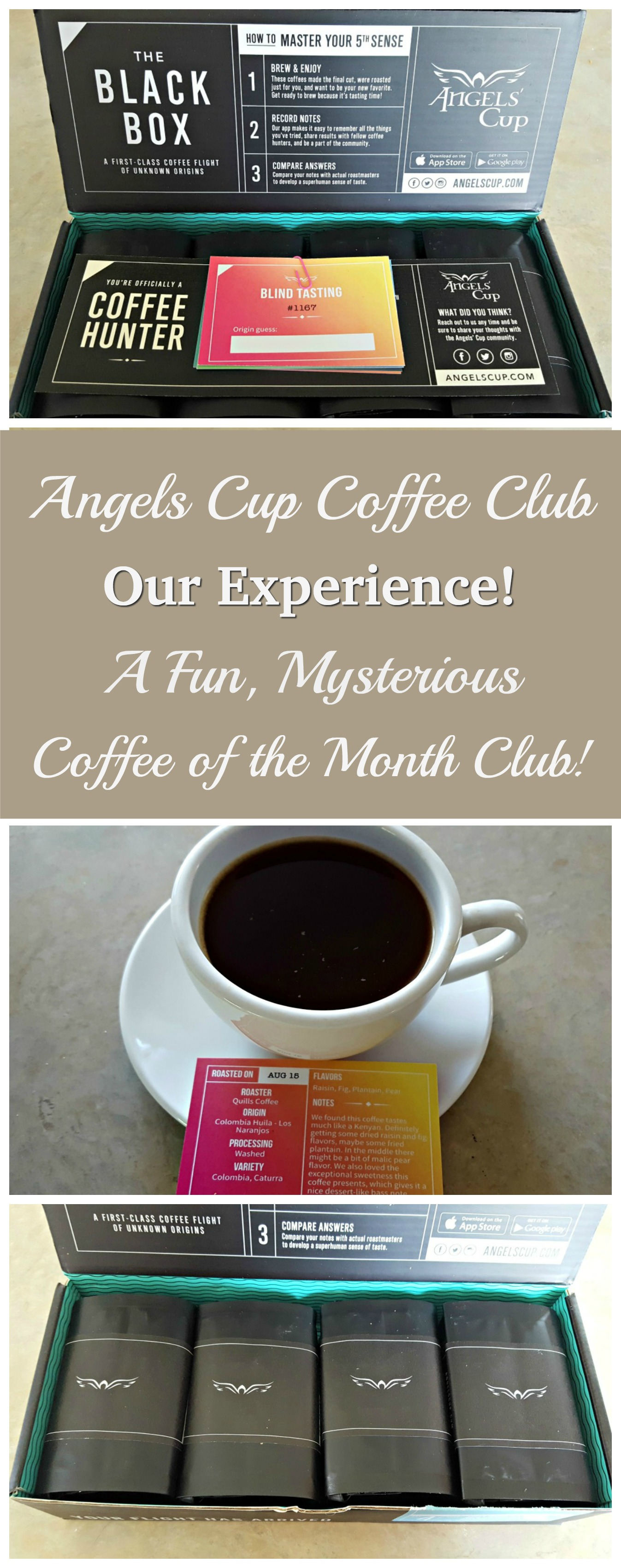 We Tried Angels Cup Coffee Club - We Loved it, and we know you will too!