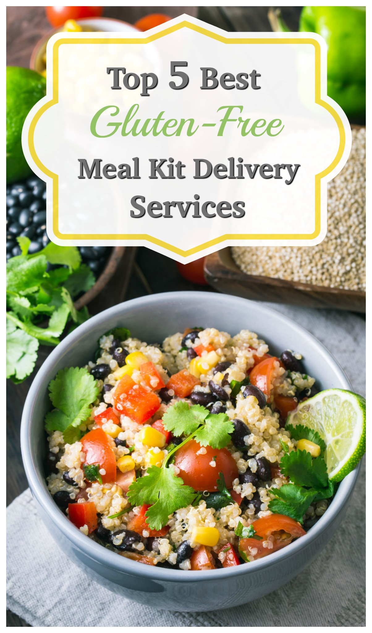 Need Gluten-Free Meals? We LOVE these 5 Meal Kit Delivery Services that provide Gluten-Free Meals! We tested them!