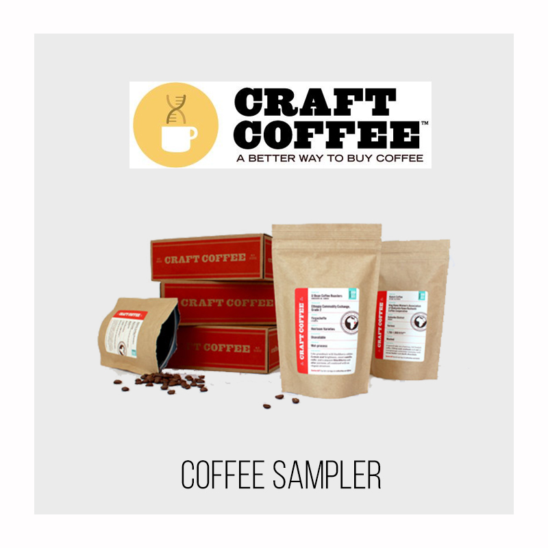 Craft Coffee Club – 3 Coffee Sampler