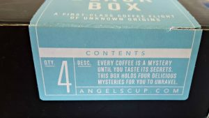 Angels Cup Box Contents