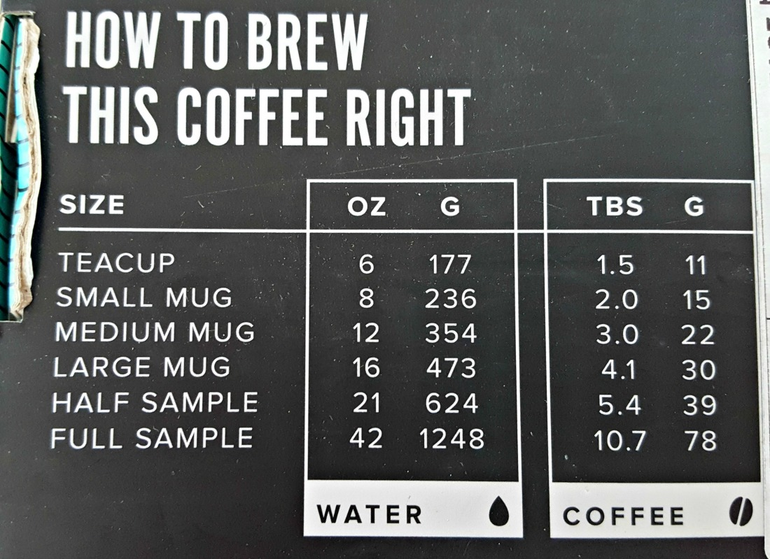 Angels Cup Brewing Instructions