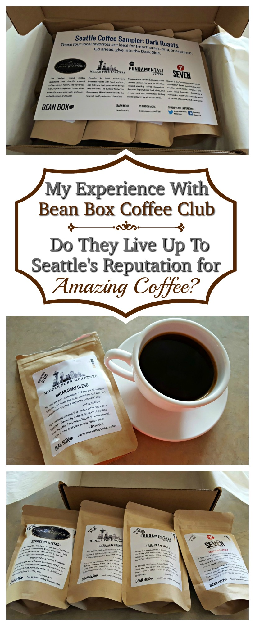 We Tried Bean Box Coffee Club - but do they live up to Seattle's reputation for amazing coffee?