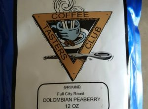 Clubs of America Colombian Peaberry Coffee