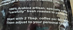 Coffee Cousins Brewing Instructions