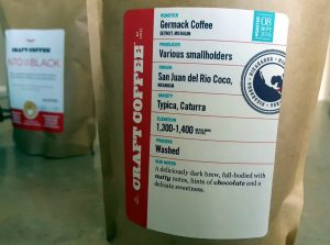 Craft Coffee Labels