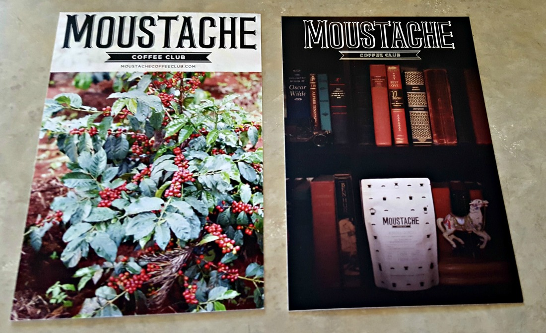 Moustache Coffee Club Coffee Information Sheets
