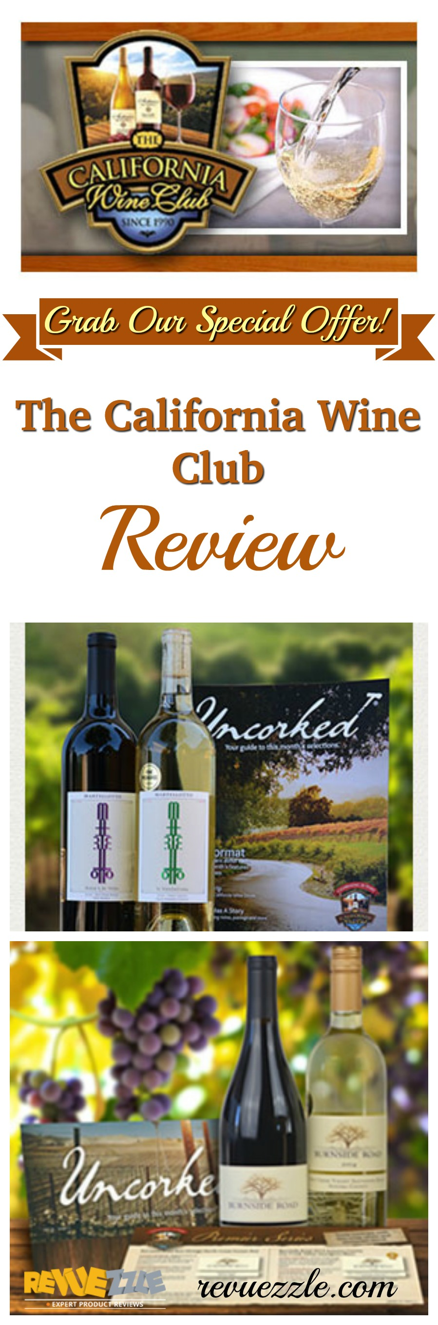 GrapeSeed Wine's Wine Club isn't labeled California, but for the foreseeable future all of it's wine comes from Napa & Sonoma, so it is one! This club is an awesome way to discover the joy of premium California wine.