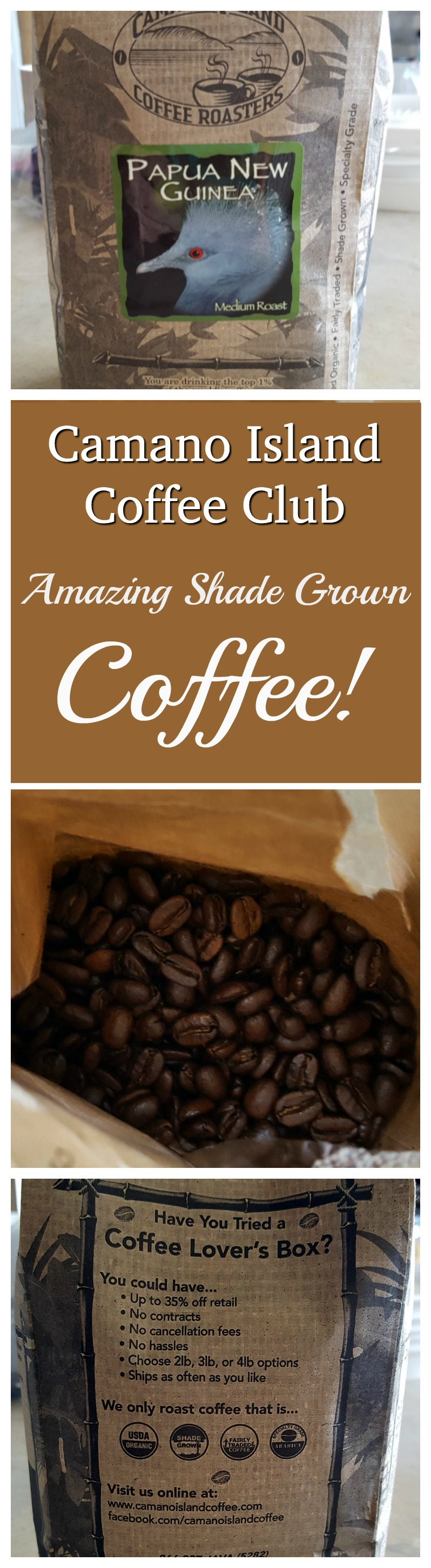 Camano Island Coffee is rich, robust and smooth. Read our full taste test!