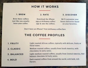 "Craft Coffee ""How it Works"""