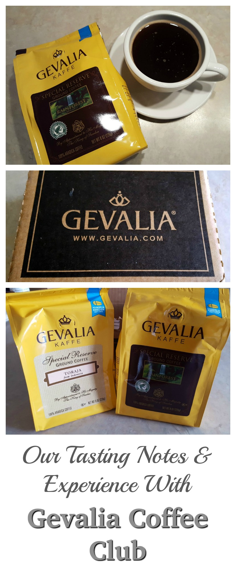 You will want to read our Tasting Notes before subscribing to the Gevalia Coffee Club!
