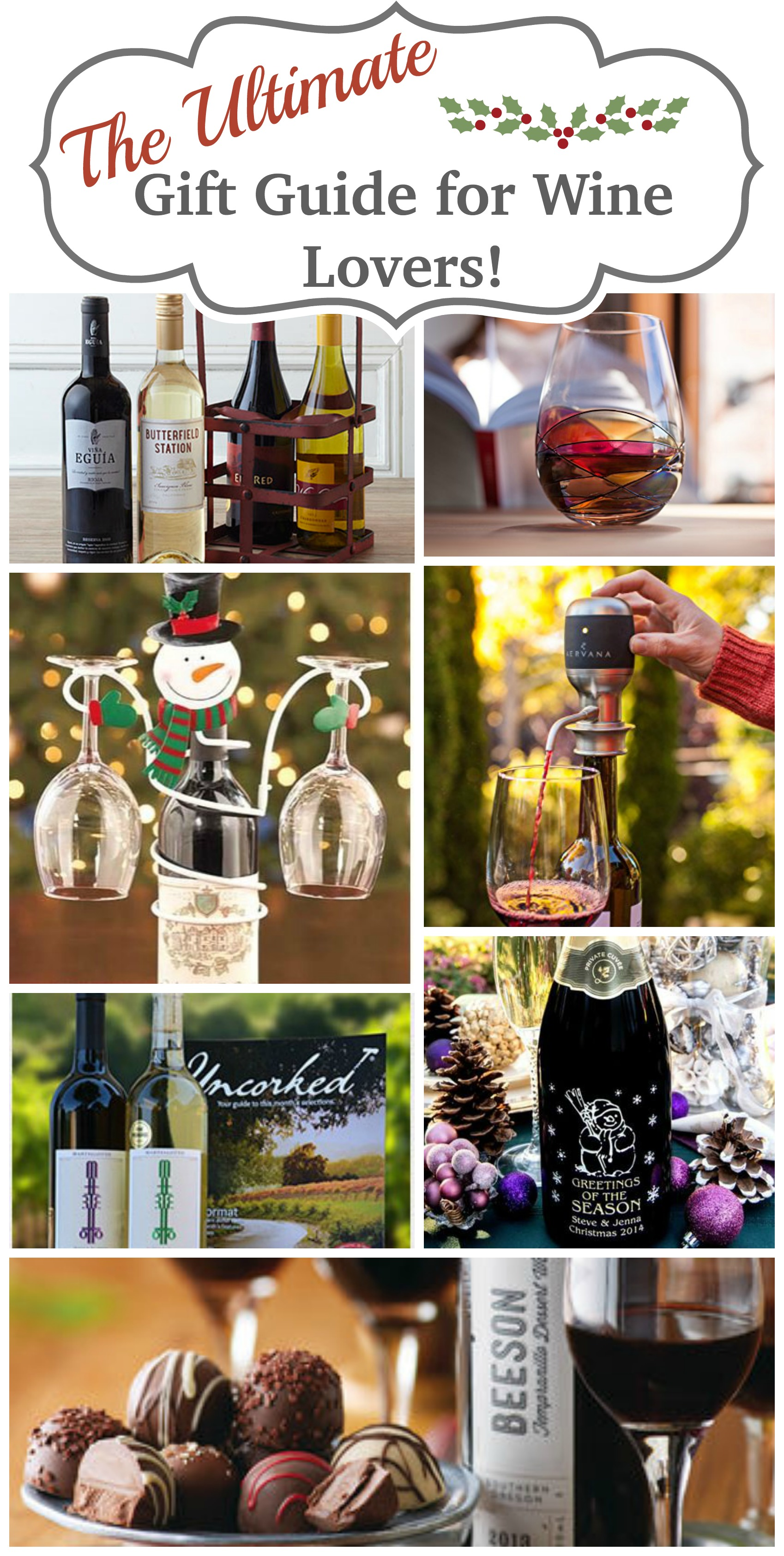 Great Gift Ideas for that Wine Lover on your gift list!