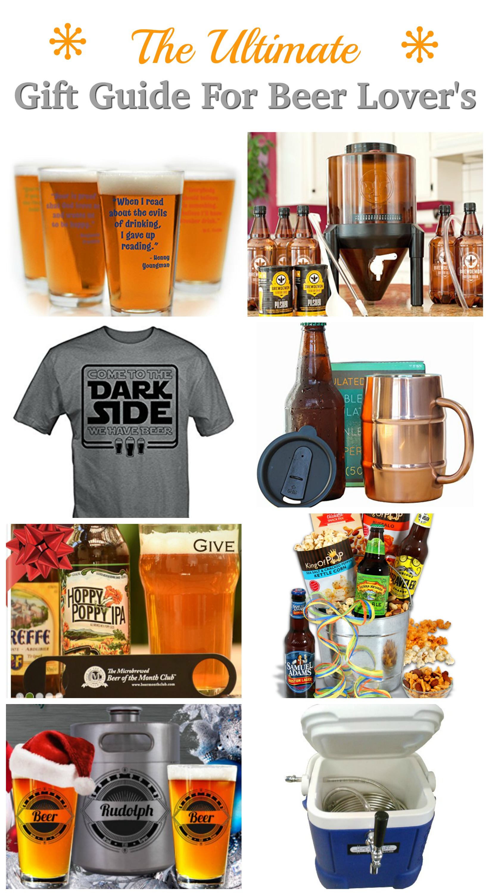 Skip the boring gift! We've got great gift ideas for your Beer Lover! Ultimate Gift Guide for Beer Lover's