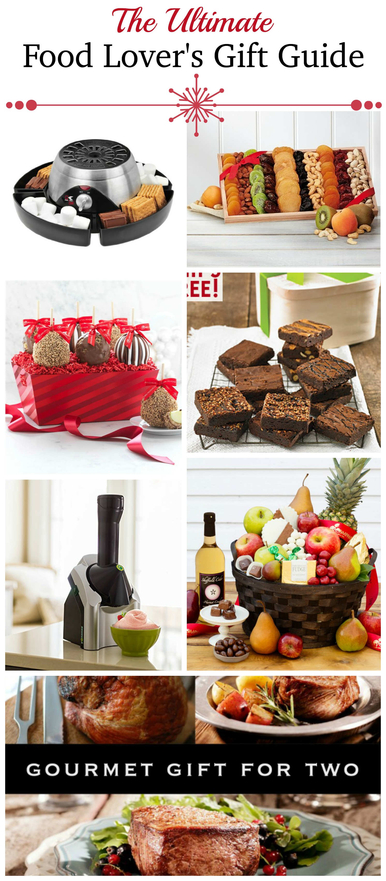 Great Gift Ideas for that Foodie or fun Food Lover on your gift list! Foodies and Food Lovers Gift Guide!