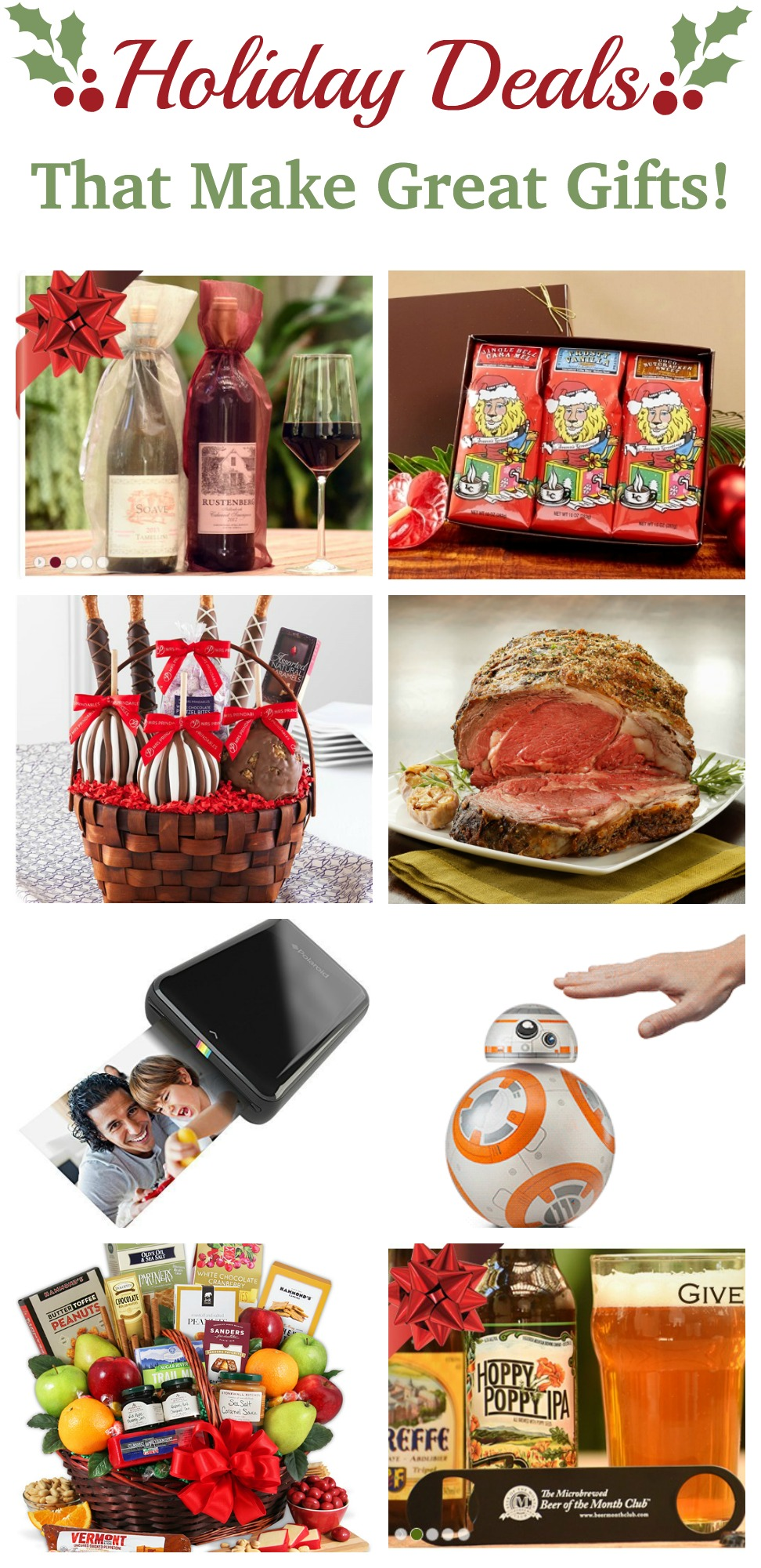 Great Holiday Deals that also make awesome gifts! We'd love anything on this list! #gift
