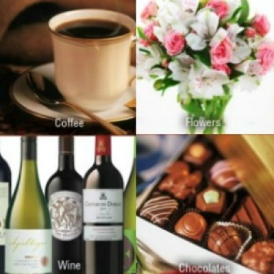 Create your own Monthly Club of flowers, coffee, chocolate, flowers and more