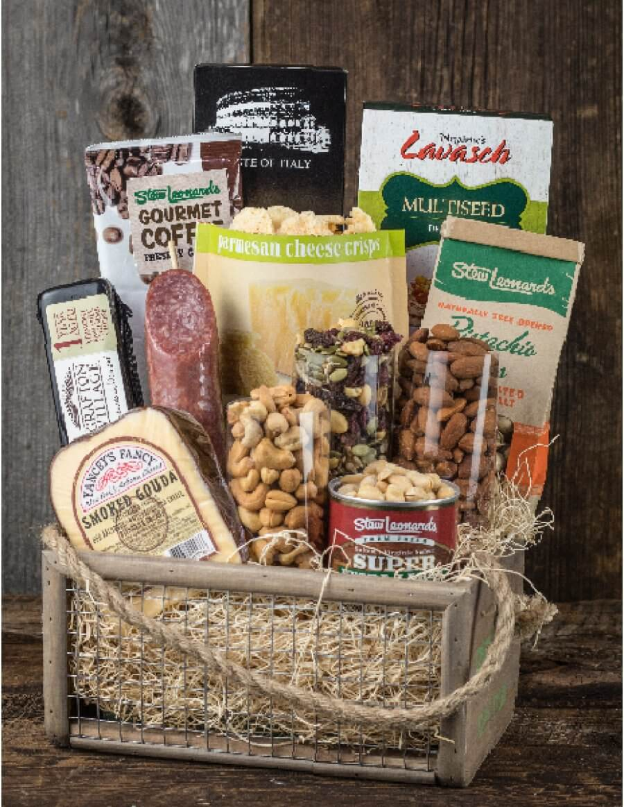 Many of our fruit baskets contain handcrafted gourmet cheeses, flatbread crackers and a selection of nuts, all chosen to perfectly complement each other and impress your gift recipient. Fruit makes a great snack any time of the day, and fruit baskets are sure to be well received by friends, family or clients, and are suitable for any occasion.