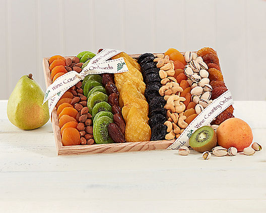 Wine Country Gift Baskets – Dried Fruit and Nut Collection