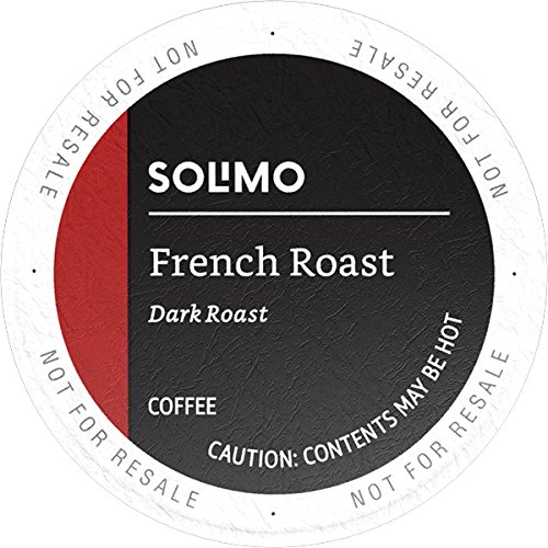 Solimo Dark Roast Coffee K-Cup Pods