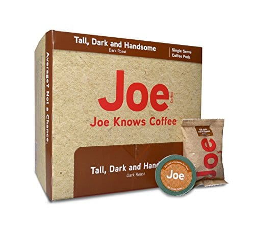 Joe Knows Coffee, Tall Dark and Handsome Pods