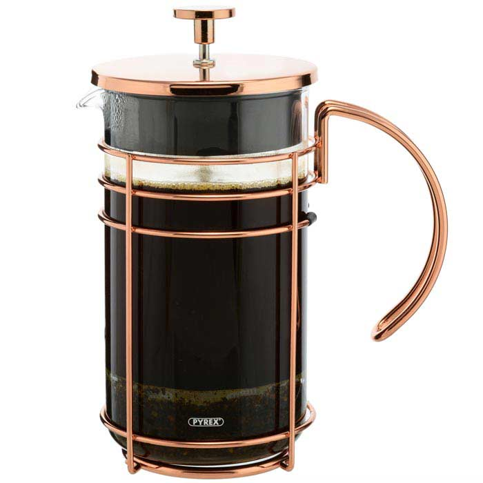 MADRID Rose Gold French Press