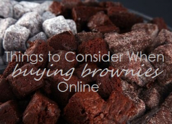 Things to Consider When Purchasing Gourmet Brownies Online