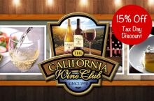 15% Off From The California Wine Club