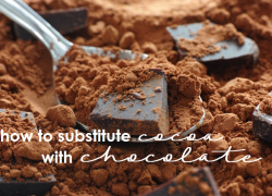 Out of Cocoa? Use Chocolate Instead!