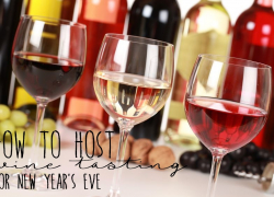 Hold A Wine Tasting Party For New Years Eve