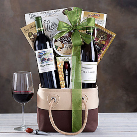 Wine Country – California Red and White Wine Tote