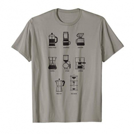 Coffee Brew Method T-Shirt